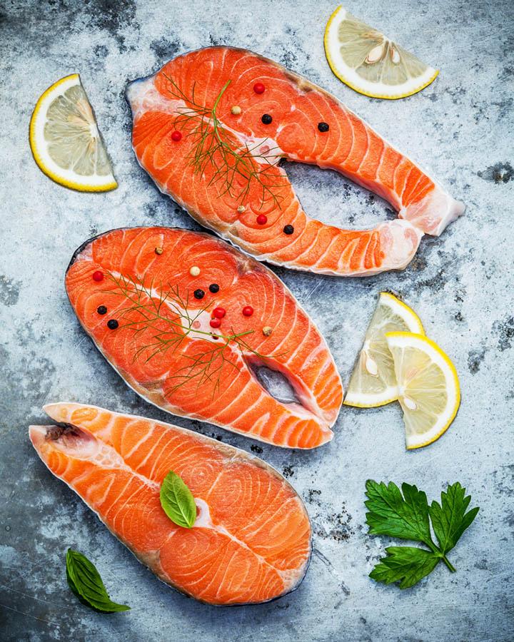 instant pot salmon frozen