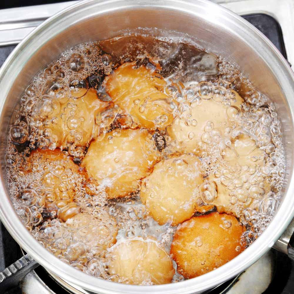 Boiling at high temprature