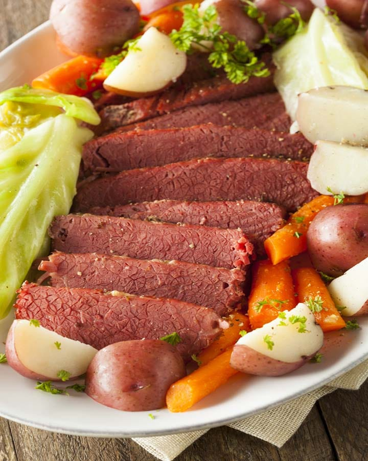 Instant Pot Corned Beef And Cabbage With Brown Sugar