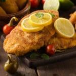 lemon and marjoram chicken chops recipe
