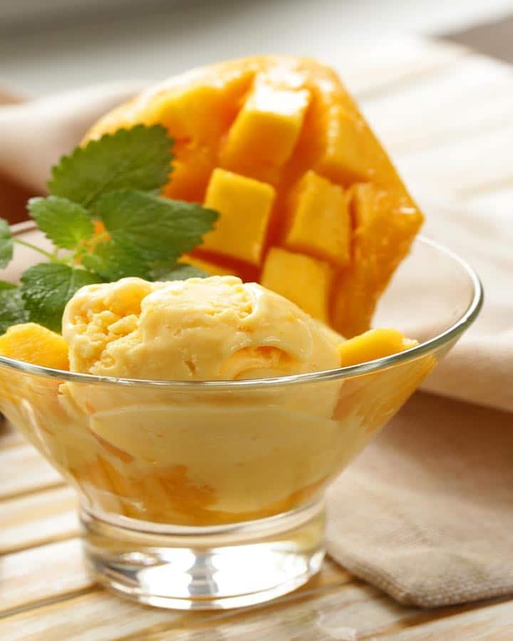mango ice cream recipe for ice cream maker