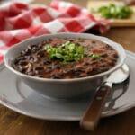 pioneer woman black bean soup