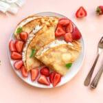 Crepe Recipe with Almond Milk