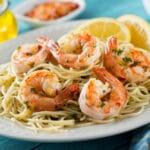 Gordon Ramsay Shrimp Scampi