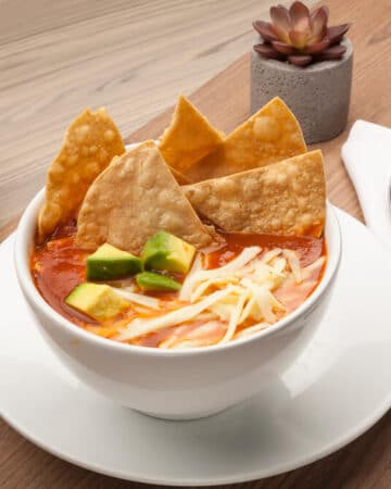 Chili Southwest Chicken Soup Recipe