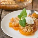 Sweetie Pies Peach Cobbler Recipe